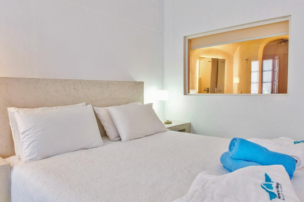 Direct Tv Satellite >> Armeni Village Rooms & Suites in Santorini, Greece, Oia - Double Room